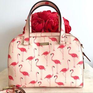 ♥️ kate spade flamingo satchel ♥️